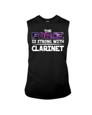 FUNNY DESIGN FOR CLARINET PLAYERS Sleeveless Tee thumbnail