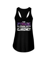 FUNNY DESIGN FOR CLARINET PLAYERS Ladies Flowy Tank thumbnail