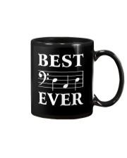 Best Dad Ever Bass Clef Music Musician Mug thumbnail