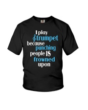 TRUMPET TSHIRT FOR TRUMPETER Youth T-Shirt thumbnail