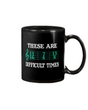 These Are Difficult Times music Musician Mug thumbnail