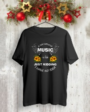I'M NAPPING FUNNY MUSIC TSHIRT FOR MUSICIAN Classic T-Shirt lifestyle-holiday-crewneck-front-2