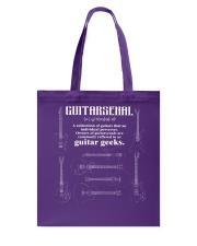 ELECTRIC ACOUSTIC GUITAR TSHIRT FOR GUITARIST Tote Bag thumbnail
