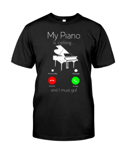My piano is Calling I Must Go Funny Pianist