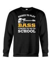 FUNNY BASS GUITAR TSHIRT FOR BASSIST Crewneck Sweatshirt thumbnail