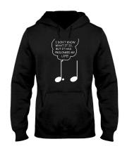 FUNNY MUSIC NOTE MUSICIAN TSHIRT Hooded Sweatshirt thumbnail