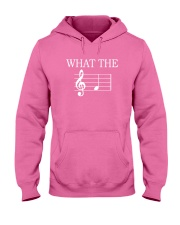 What The Fuck Funny Treble Clef Music Musician Hooded Sweatshirt thumbnail