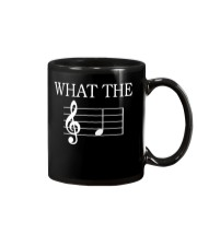 What The Fuck Funny Treble Clef Music Musician Mug thumbnail