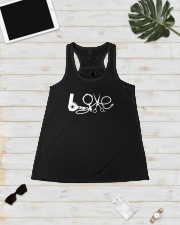 7DK-Hairstylist Love Ladies Flowy Tank lifestyle-bellaflowy-tank-front-5