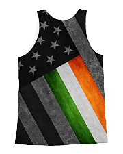 PVT - Irish flag US Full Print All-over Unisex Tank back