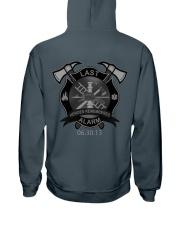 The Granite Mountain Hotshots Crew Hooded Sweatshirt back