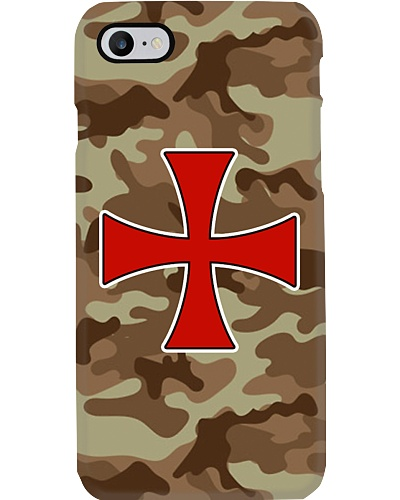 Knight Templar Desert Camo Phone Case