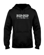 POP-POP BECAUSE GRANDPA IS FOR OLD GUY SHIRT Hooded Sweatshirt thumbnail