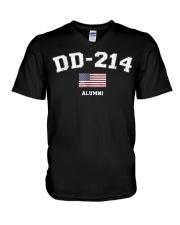 DD-214 Army Alumni Shirts V-Neck T-Shirt thumbnail