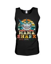 Mama Shark Shirt Unisex Tank thumbnail