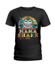Mama Shark Shirt Ladies T-Shirt thumbnail