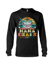 Mama Shark Shirt Long Sleeve Tee thumbnail
