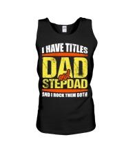 Dad and Stepdad T-Shirts Unisex Tank thumbnail