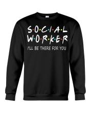 Social Worker T-Shirts Crewneck Sweatshirt thumbnail