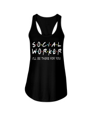 Social Worker T-Shirts Ladies Flowy Tank tile