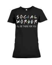 Social Worker T-Shirts Premium Fit Ladies Tee thumbnail