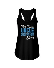 Best Freakin Uncle And Godfather Ever Father's Day Ladies Flowy Tank thumbnail