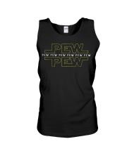 Pew pew pew T-Shirt Unisex Tank thumbnail