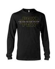 Pew pew pew T-Shirt Long Sleeve Tee thumbnail
