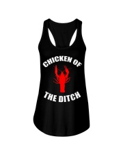 Chicken Of The Ditch Shirt Ladies Flowy Tank thumbnail