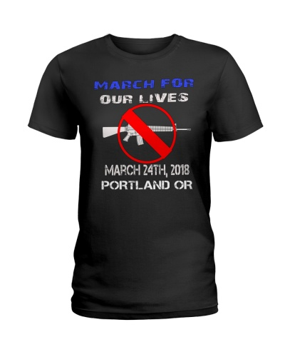 March For Our Lives Portland OR T-Shirt