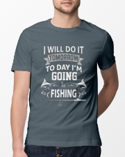 FISHING T-SHIRTS - GOING TO FISHING Classic T-Shirt lifestyle-mens-crewneck-front-13