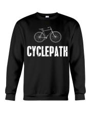 Cycle-Path Funny Cycling Mountain Crewneck Sweatshirt thumbnail