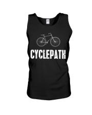 Cycle-Path Funny Cycling Mountain Unisex Tank thumbnail