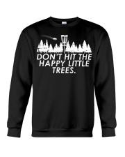 Funny Trees Disc Golf Shirt Per Crewneck Sweatshirt thumbnail