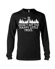 Funny Trees Disc Golf Shirt Per Long Sleeve Tee thumbnail