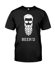 Beer'd Hop Beard for Beer Drin Classic T-Shirt front