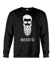 Beer'd Hop Beard for Beer Drin Crewneck Sweatshirt thumbnail