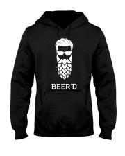 Beer'd Hop Beard for Beer Drin Hooded Sweatshirt thumbnail