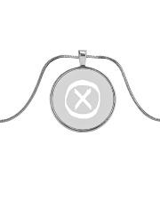 The AFOTS mark Metallic Circle Necklace thumbnail