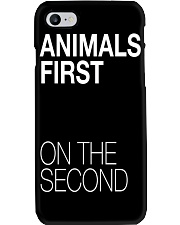 Animals First on the Second Phone Case thumbnail