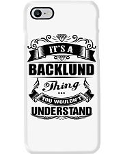 BACKLUND perfect Birthday gift Tee Phone Case thumbnail