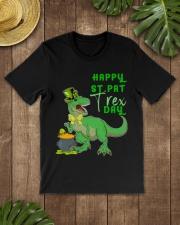 Happy St Pat T-Rex Day Dinosaur St Classic T-Shirt lifestyle-mens-crewneck-front-18
