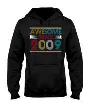 11th Birthday Gifts - Awesome Since 2009 Hooded Sweatshirt thumbnail