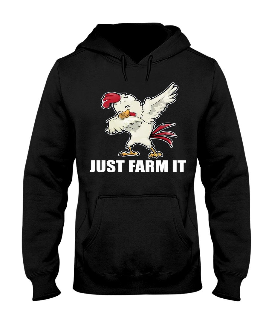 JUST FARM IT TSHIRT Hooded Sweatshirt