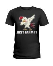 JUST FARM IT TSHIRT Ladies T-Shirt thumbnail