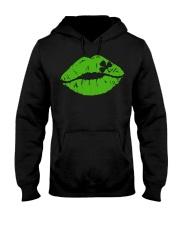 Kiss Me I'm Irish T Shirt Lips Shirt St Patricks D Hooded Sweatshirt thumbnail