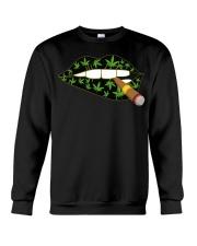 Love cigar Cannabis Crewneck Sweatshirt thumbnail