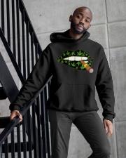 Love cigar Cannabis Hooded Sweatshirt apparel-hooded-sweatshirt-lifestyle-front-10
