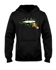 Love cigar Cannabis Hooded Sweatshirt front