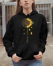 Choose Happy Hooded Sweatshirt apparel-hooded-sweatshirt-lifestyle-07